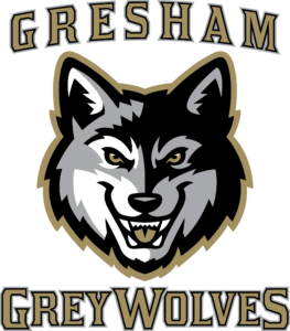 Gresham Grey Wolves Baseball Logo