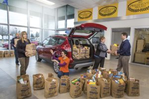 Gresham Ford Sponsors Fill A Bag
